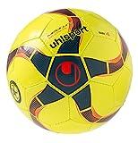 uhlsport Ball MEDUSA ANTEO 290 ULTRA LITE Fußball, Fluo gelb/Petrol/Schwarz, 3