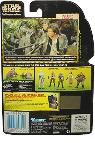 Freeze Frame Han Solo in Endor Gear Vintage Star Wars 1997 The Power of the Force Action Figure (Gear Endor)