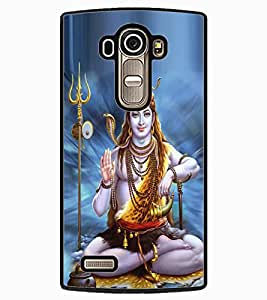 ColourCraft Lord Shiva Design Back Case Cover for LG G4