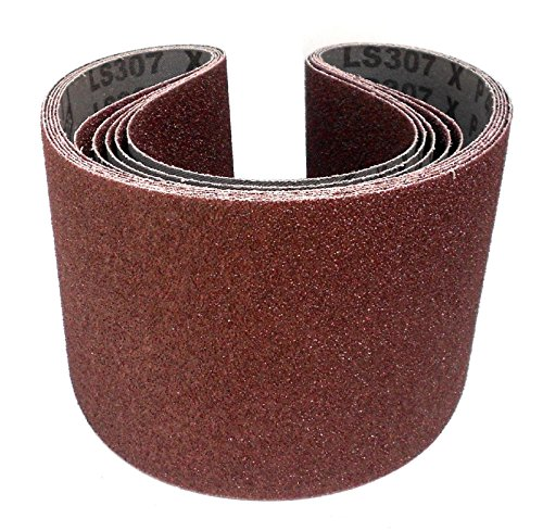 Preisvergleich Produktbild 5 Stück Klingspor Schleifband LS307X | 150 x 1220 mm | Industriequalität | Körnung nach Wahl (P180)