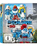 Die Schlümpfe (Deluxe Figuren-Geschenkset) (+ 2D, Kurzfilm, Eine schlumpfige Weihnachtsgeschichte, 3 Figuren, Steelbook) [Blu-ray 3D]