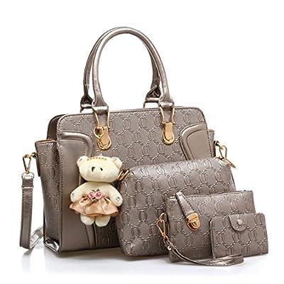 Dunland Femme mode pour dames sac à main Classique Parents de 4 pièces sacs à main sac à