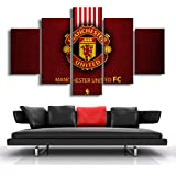 wfdmd 5 Stücke Moderne Rote Manchester United Sport Wand