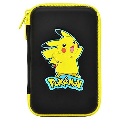 HORI New 3DS XL Pikachu Hard Tasche schwarz (New Nintendo 3DS)