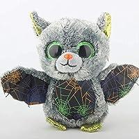 hzbftoy Soft Plush Toy,beanie Boos Stuffed & Plush Animals Vlad The Gray Bat Halloween Toy Doll 15cm