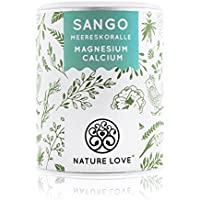 Sango Meereskoralle - 250g Pulver. Natürliche Quelle für Kalzium (20%) und Magnesium (10%) im körpereigenen Verhältnis von 2:1. Hochdosiert und hergestellt in Deutschland