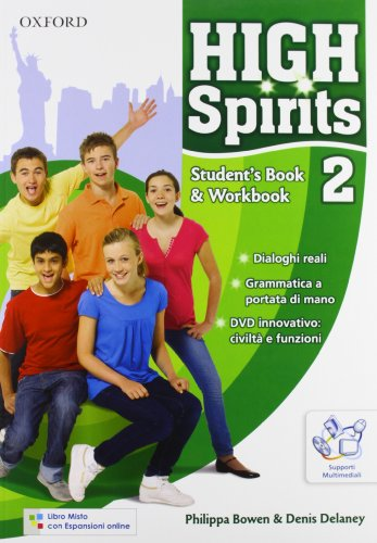 High spirits. Student's book-Workbook-Extra book. Con espansione online. Per la Scuola media. Con CD-ROM: Volume 2