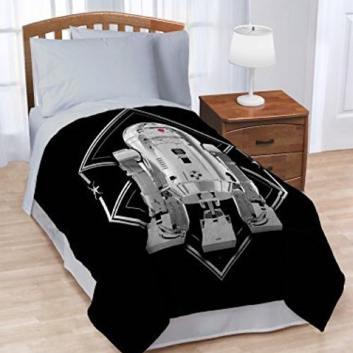 Star wars episodio 8 twin bedding coperta di peluche