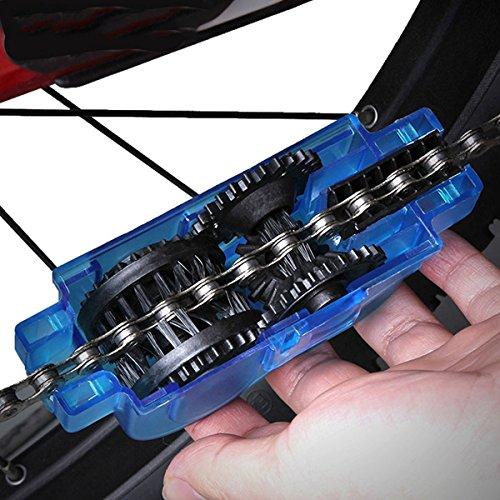 Fozela Fahrrad Kettenreinigungsgerät / Fahrradreiniger / Kettenwäscher / Fahrradkettenreiniger– Schnelles sauberes Werkzeug für Alle Arten von Fahrrad Ketten - 6