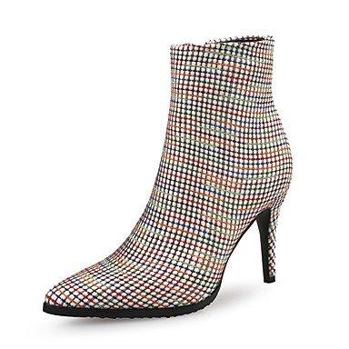 Rtry Chaussures Pour Femmes En Microfibre Synthétique Pu Automne Hiver La Mode Bottes Talon Stiletto Bottes Toe Booties / Bottines Pour Party & Amp; Soirée Us9 / Eu40 / Uk7 / Cn41