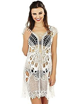 Boutique, Mujer Ropa De Baño Traje De Baño Vestido Pareo Ganchillo Vestido Túnica