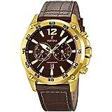 Festina Herren-Armbanduhr Chronograph Quarz Leder F16880/2