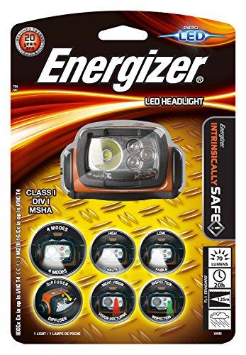 Energizer Kopflampe ATEX LED (70 Lumen, 125m Reichweite, wetterfest IPX 4) Energizer Headlight