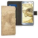 kwmobile Motorola Moto X4 Hülle - Kunstleder Wallet Case für Motorola Moto X4 mit Kartenfächern & Stand