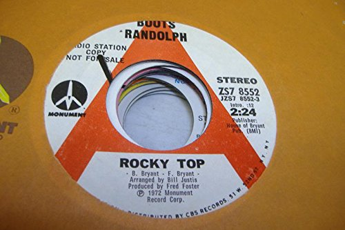 BOOTS RANDOLPH 45 RPM Rocky Top / Love Theme From