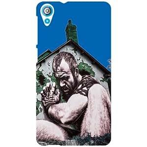 HTC Desire 820Q Back cover - Child Love Designer cases