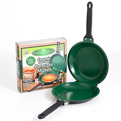 Easy Flip NonStick Kochgeschirr Pancake Maker Double Pan Non Stick Pancake Pan