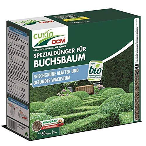 Cuxin Buchsbaumdünger, 3 kg Heckendünger