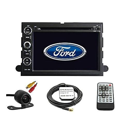 tltek® Système navigation GPS pour voiture pour Ford Fusion 2006–2009/Ford