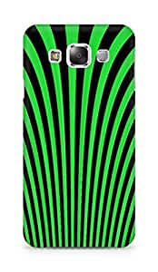 Amez designer printed 3d premium high quality back case cover for Samsung Galaxy E5 (Optical illusion lines)