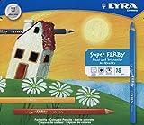 LYRA Super Ferby Kartonetui mit 18 Farbstiften, Sortiert