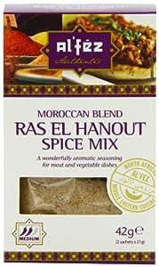 Al'fez Ras El Hanout Moroccan Spice 42 g (Pack of 6)