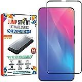 Jump Start V15 Pro 9h Full Glue Edge to Edge 5D Screen Protector Tempered Glass for VIVO V15 PRO (Black)(Pop-Up Selfie Camera)