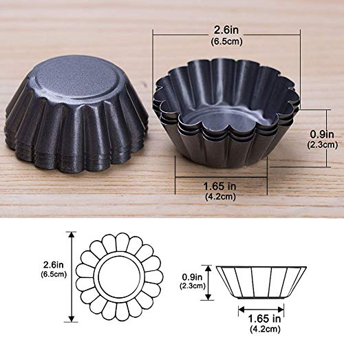 Jourbon Cupcake Kuchen Cookie Form Tin Backen Werkzeug Backförmchen 12 Stücke Torte Schimmel Muffin Kuchen Form Set Mini-muffin-pan-cookies