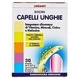 Biocrin Lineawit - Integratore alimentare di vitamine, minerali, cistina, metionina e miglio - 30 cps - 15,21 g