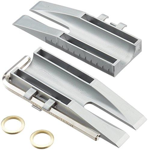 Türen Clou - Einhänge-Hilfe für Zimmertüren in Scharnier  inkl. 2 Fitschenringe (Unterlegscheiben/Distanzscheiben/Distanzringe) -