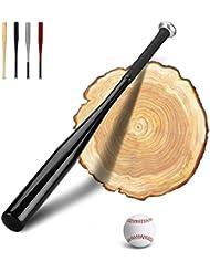 PLUSINNO 28 Zoll Holz / Aluminum Baseballschläger mit Baseball