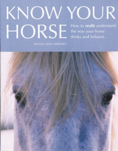 Know Your Horse by Susan McBane (2008-11-18)