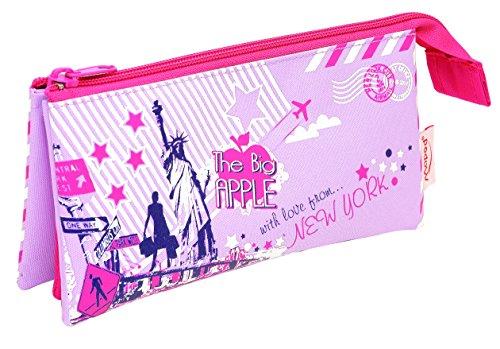 Helix City Sights - Pencil case (nylon, 3 compartments)