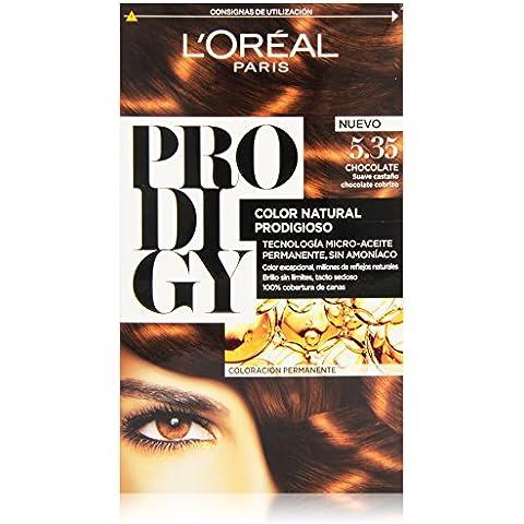 L'Oréal Prodigy Coloración Permanente, Tono Chocolate 5.35 - 180 g