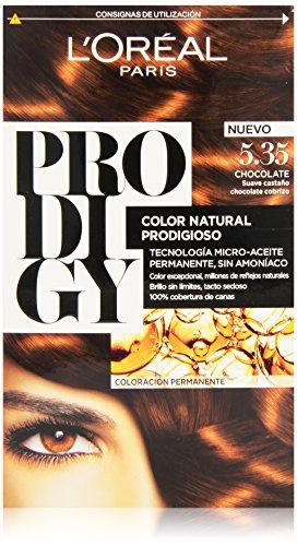 PRODIGY permanente Farbe 4 Stück 5,35-Schokolade