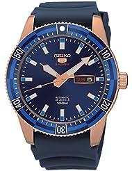 Seiko Herren-Armbanduhr Analog Automatik Plastik SRP738K1