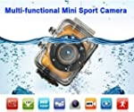Action Camcorder Touch Screen HD 720P...