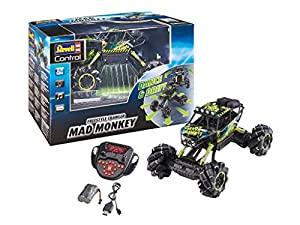 Revell Control- Freestyle Crawler Mad Monkey Juguetes a Control Remoto, Color Negro (24459)