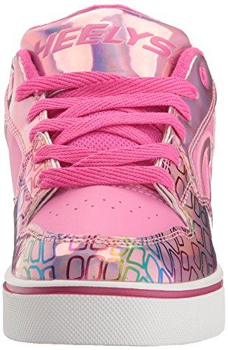 Heelys Mädchen Motion Plus Niedrige Sneaker Pink (Pink / Light Pink / Multi)