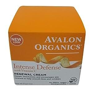 Avalon Organics Vitamin C Renewal Facial Cream, 60ml
