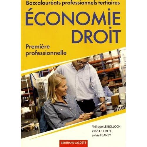 Economie Droit 1re professionnelle
