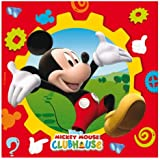 Amscan Lunch/ Napkins Mickey Club House