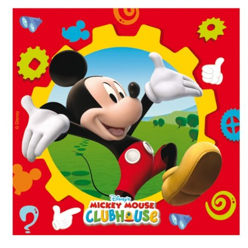 Mickey Mouse Clubhouse Party - Mickey Mouse Birthday Party Napkins x 20