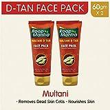 Roop Mantra Multani D Tan Face Pack, 60g (Pack of 2)