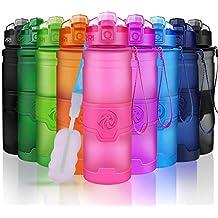 Botella de Agua Deportiva - 400ml/500ml/700ml/1000ml sin BPA & a