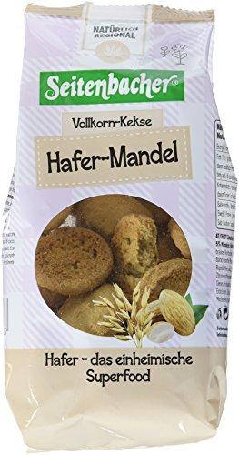 Seitenbacher Vollkorn Kekse Hafer und Mandel, 4er Pack (4 x 200 g)