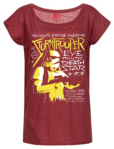 Stormtrooper - Live From Deathstar (Girly Shirt S/