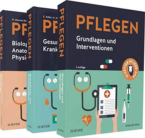 PFLEGEN Lernpaket: Grundlagen - Anatomie - Krankheitslehre