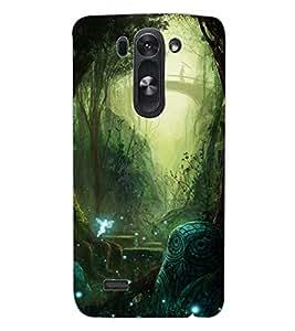 ColourCraft Forest Design Back Case Cover for LG D722K