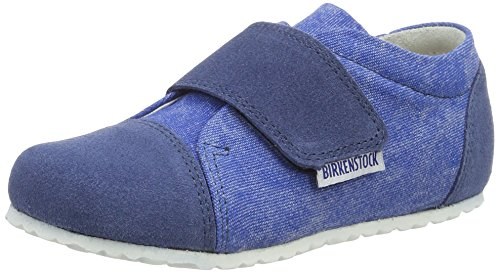 Birkenstock Kids Unisex-Kinder Casper Low-Top, Blau (Blue), 33 EU